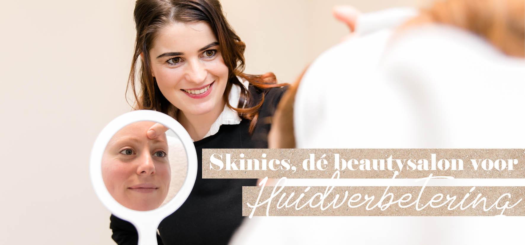 Gezichtsbehandeling Echt - Jennifer Penners - Skinics in Echt