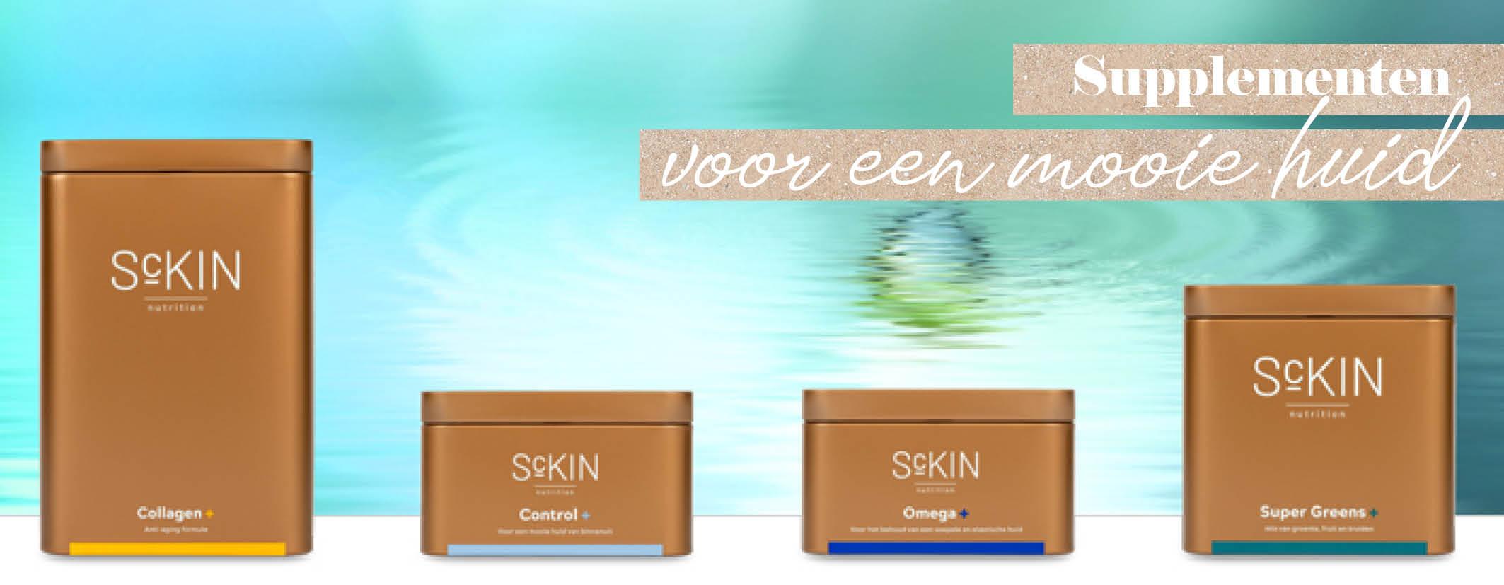 Sckin Nutrition supplementen - Supplementen huid - Skinics -